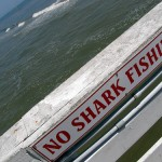 Sign on the pier at Daytona Beach, Florida, USA